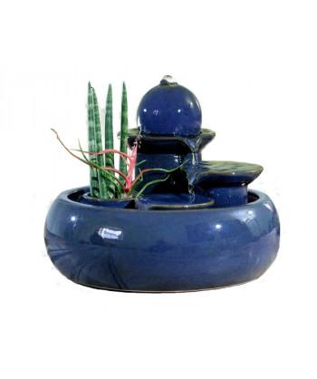Keramická fontána SELIGER TRENTINO BLUE