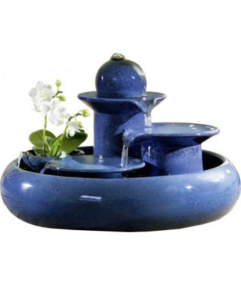 Keramická fontána SELIGER LOCARNO BLUE
